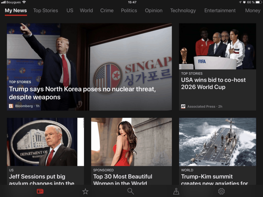 Msn news app to become microsoft news on ios and android - onmsft. Com - june 13, 2018