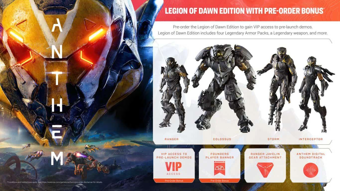 Anthem Legion of Dawn Edition on Xbox One