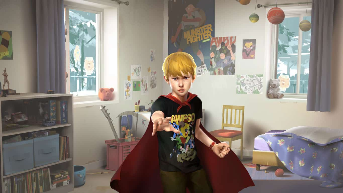 The Awesome Adventures of Captain Spirit video game on Xbox One