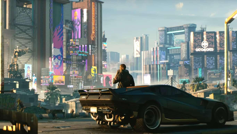 Cyberpunk 2077 video game on Xbox One