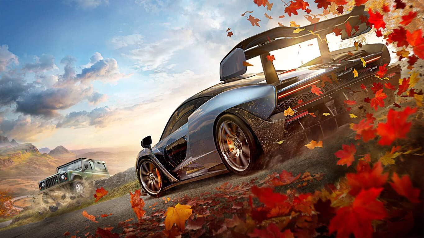 Forza Horizon 4 video game on Xbox One
