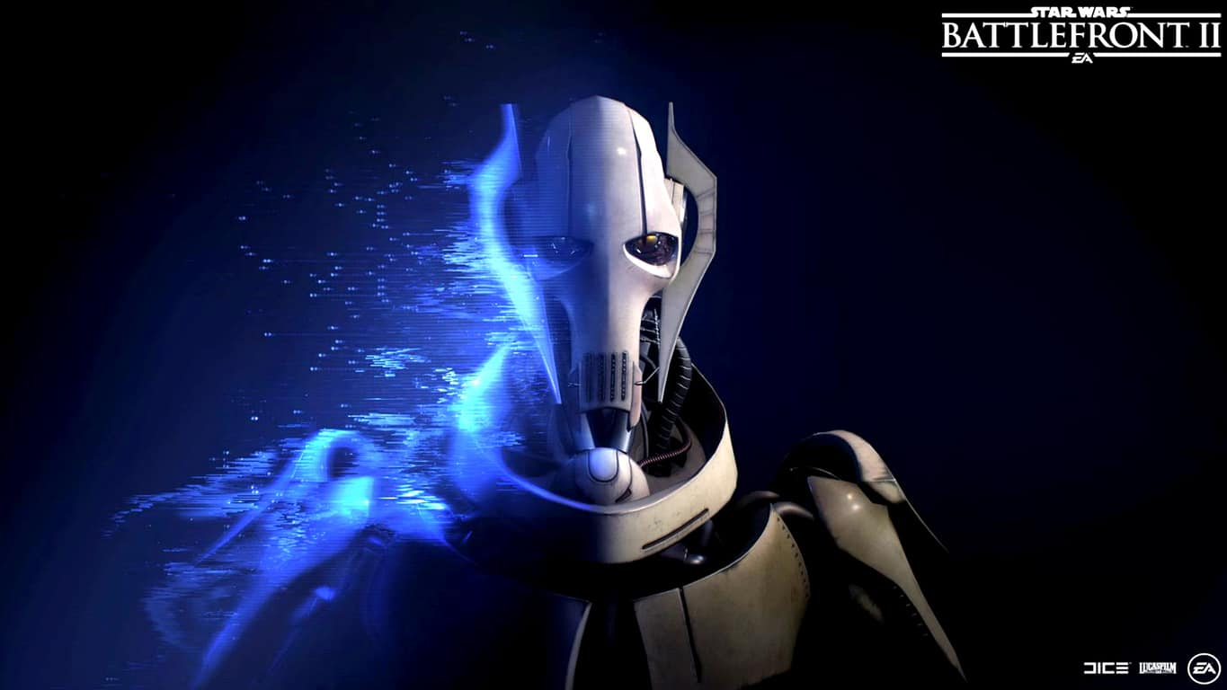 General Grievous from Star Wars Battlefront II video game on Xbox One