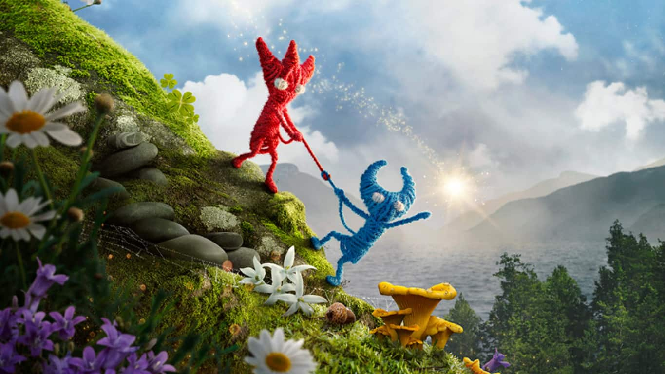 Unravel 2 video game on Xbox One