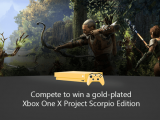 Win a gold plated xbox one x with xbox game pass quests: summer edition - onmsft. Com - july 3, 2018