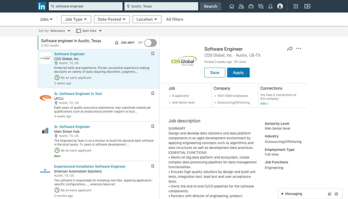 LinkedIn launches a new search experience for job seekers OnMSFT.com August 23, 2018