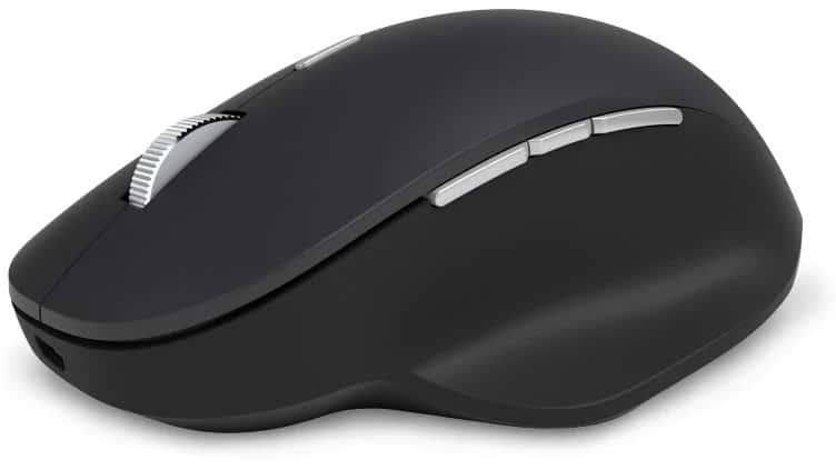 All black Precision Mouse