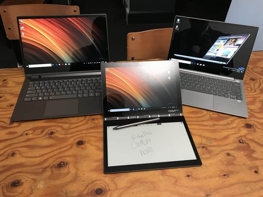 IFA 2018: Lenovo announces new Yoga, Yoga Book, ThinkPad X1 Extreme, Windows 10 on ARM devices OnMSFT.com August 30, 2018