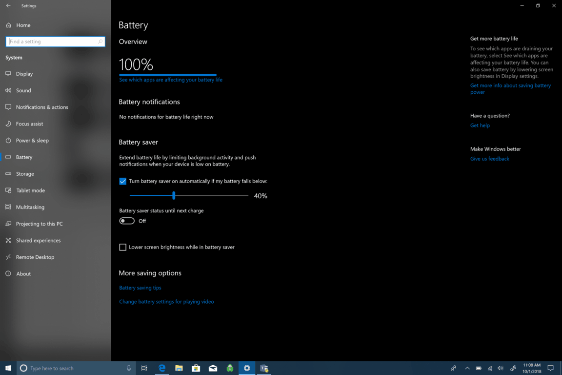 Microsoft, Windows 10, Battery, Settings, How-To, Battery Report