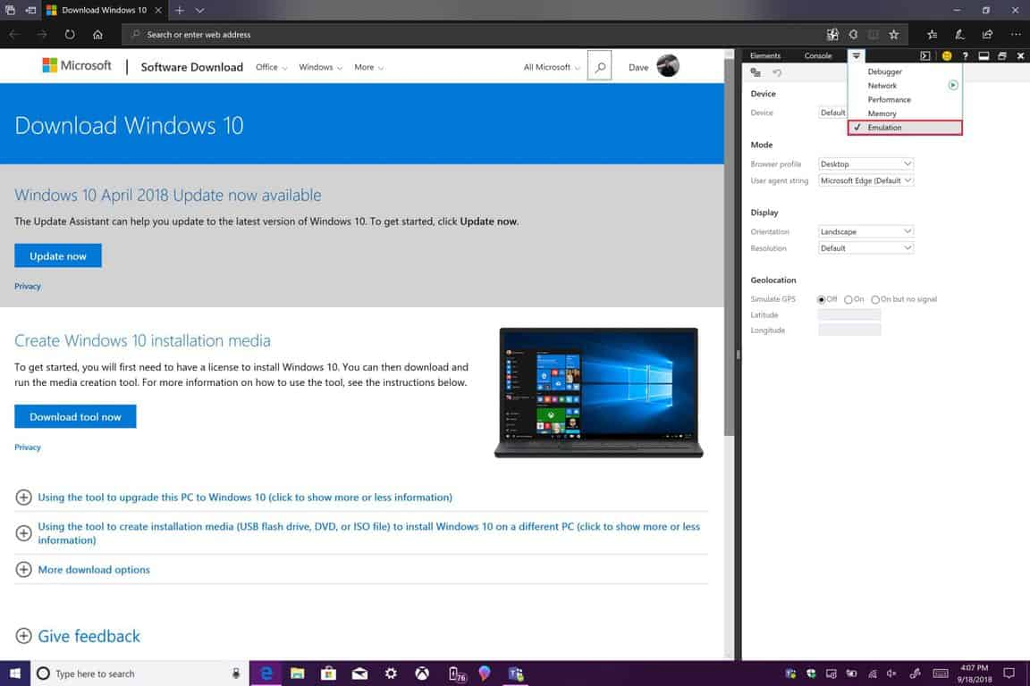 How to download Windows 10 ISOs without the Media Creation
