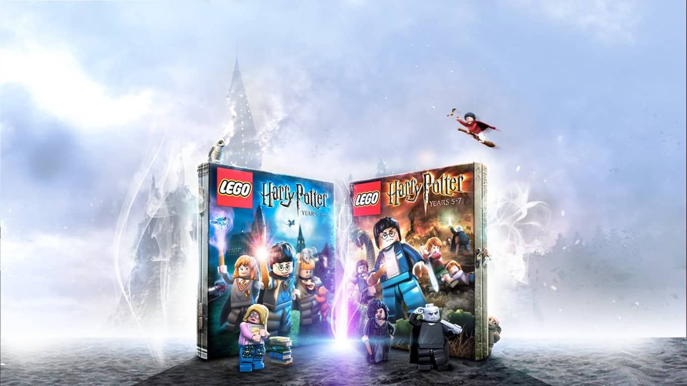 LEGO Harry Potter Collection video game on Xbox One