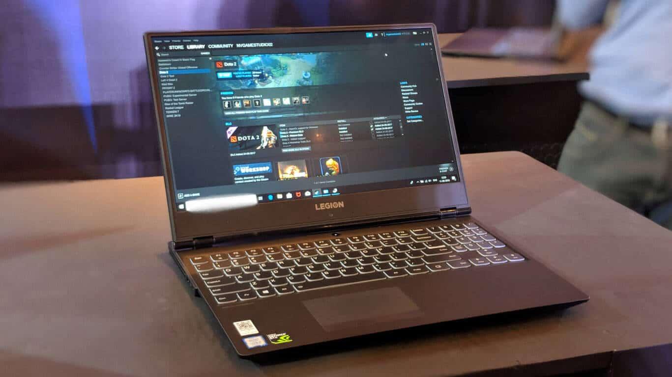 Lenovo Legion laptop