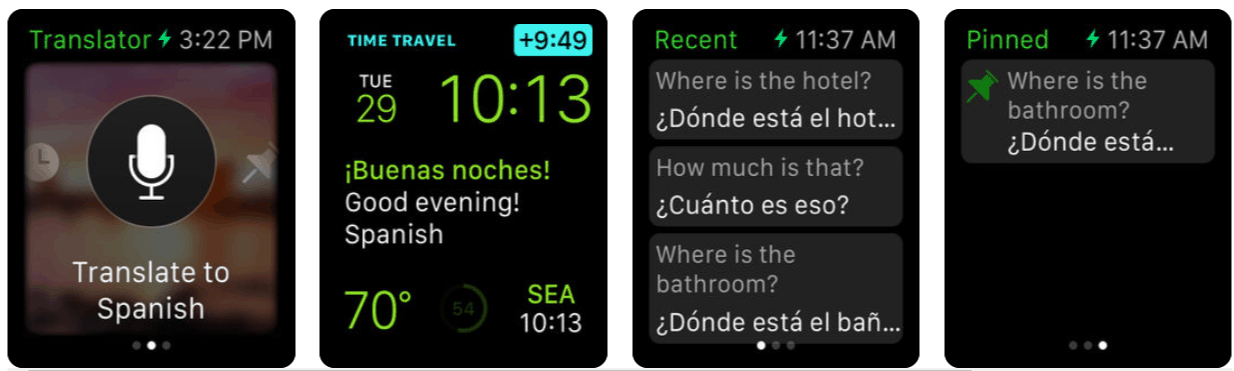Microsoft translator app gains better apple watch support in latest ios update - onmsft. Com - october 3, 2018
