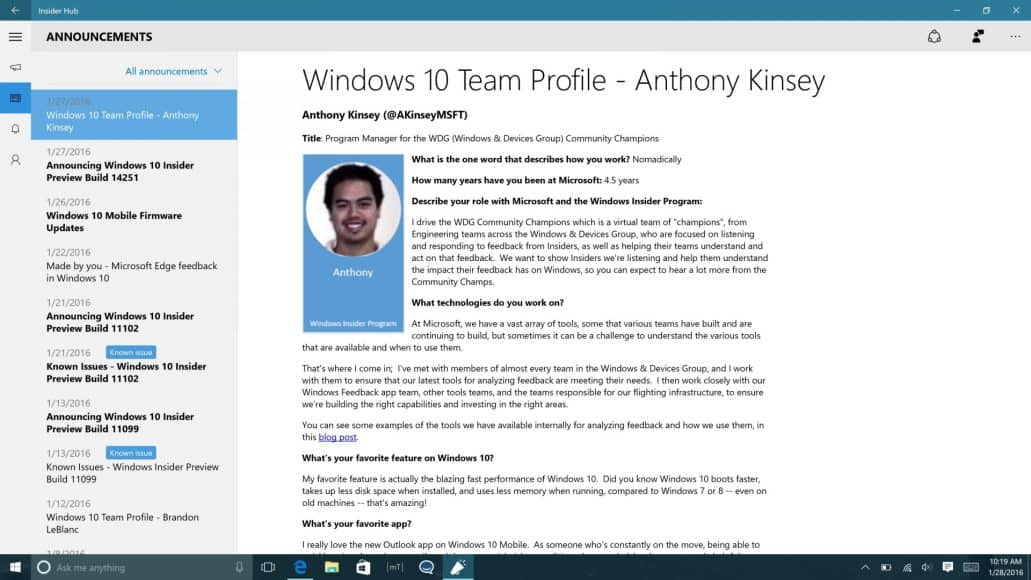 New windows insider series to go behind the scenes on how windows works - onmsft. Com - october 18, 2018