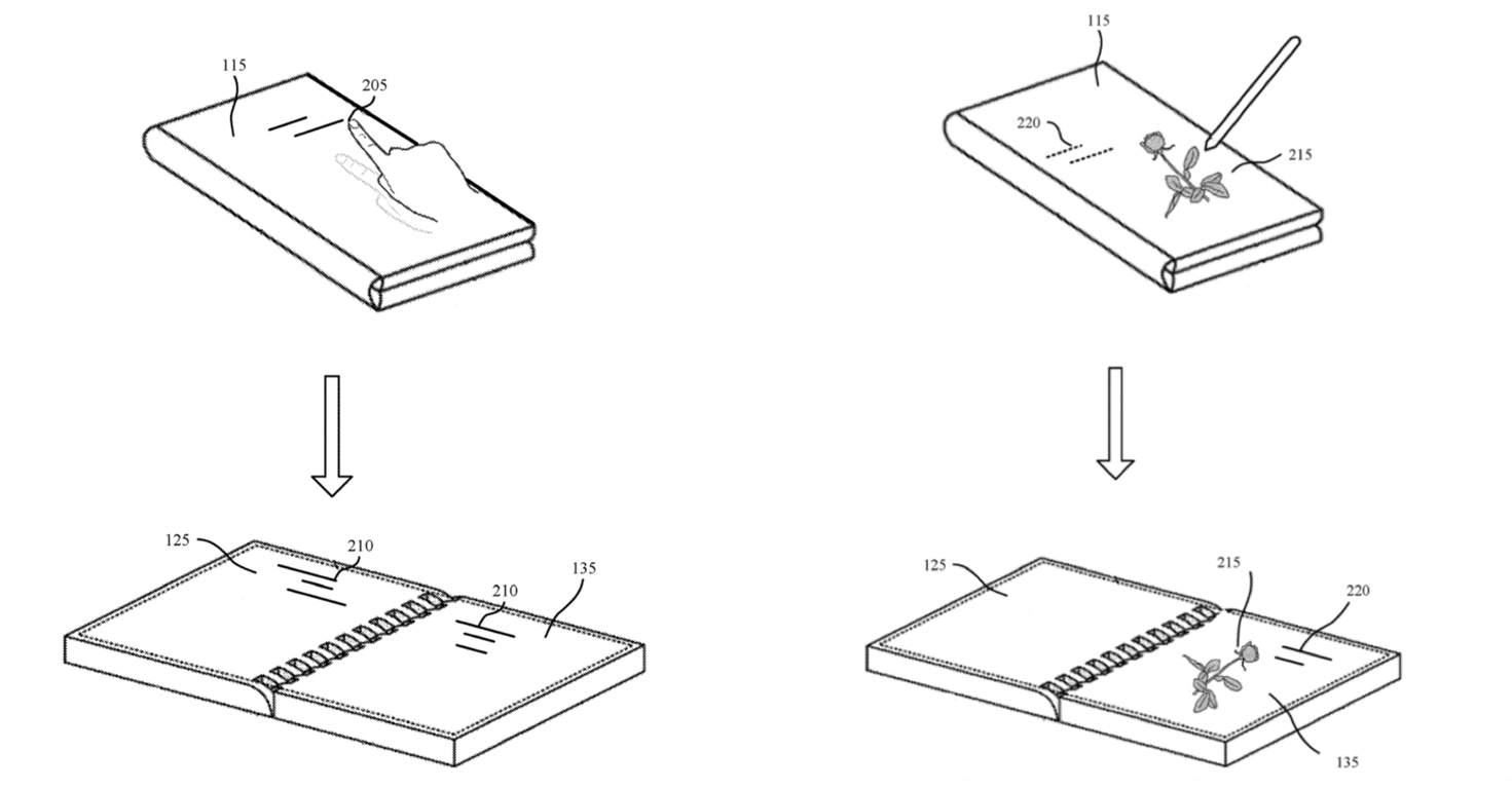 Microsoft's foldable surface phone could let you ink on its exterior cover - onmsft. Com - october 5, 2018