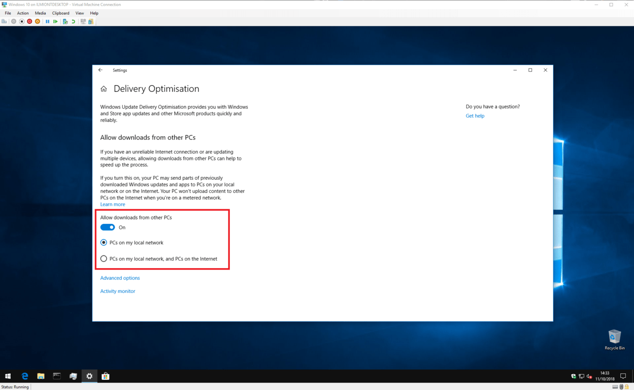 How to stop windows 10 using your internet bandwidth to upload updates to others - onmsft. Com - october 12, 2018