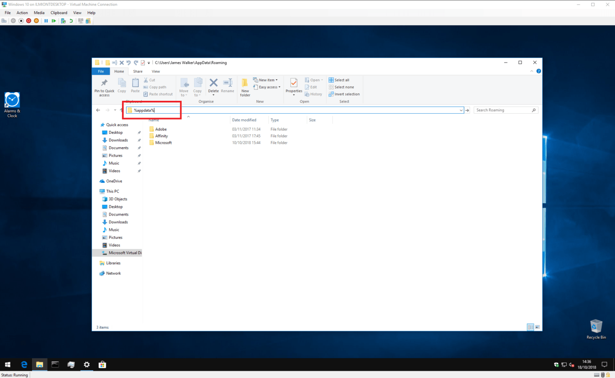 Windows 10 Startup programs folder