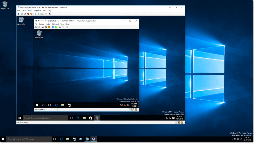 How to install a virtual machine on Windows 10 using Hyper V, now even  easier with Quick Create » OnMSFT.com