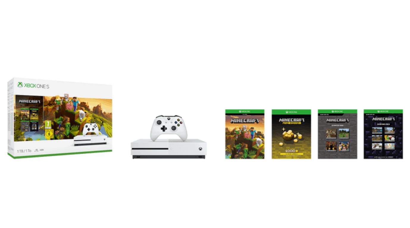 Xbox One S Minecraft Creators Bundle