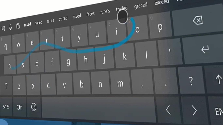 Microsoft's SwiftKey in Windows 10