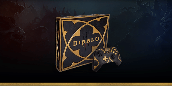 Win A Ridiculously Cool Looking Diablo Iii Xbox One X Console Onmsft Com