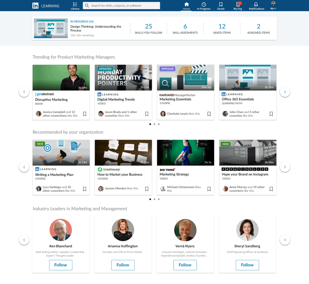 LinkedIn Learning adds 3rd party content from Harvard Business Publishing, more OnMSFT.com November 9, 2018