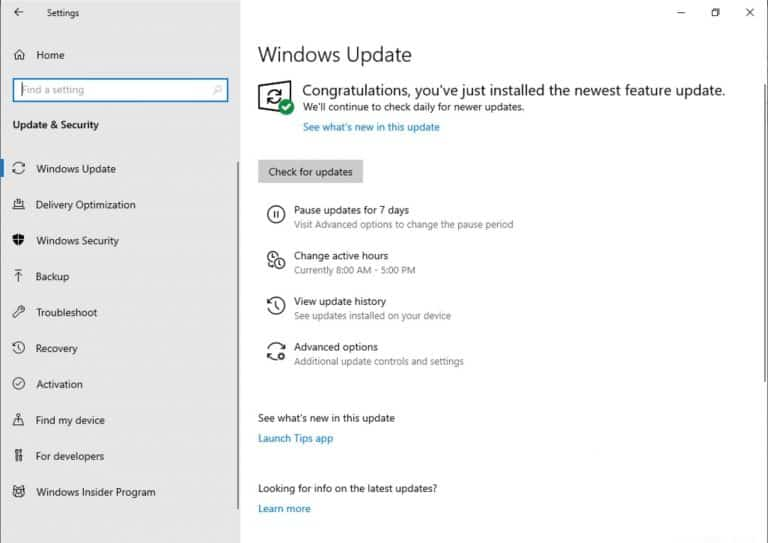Windows 10 Insider build 18282 includes important new features coming to Windows Update OnMSFT.com November 14, 2018