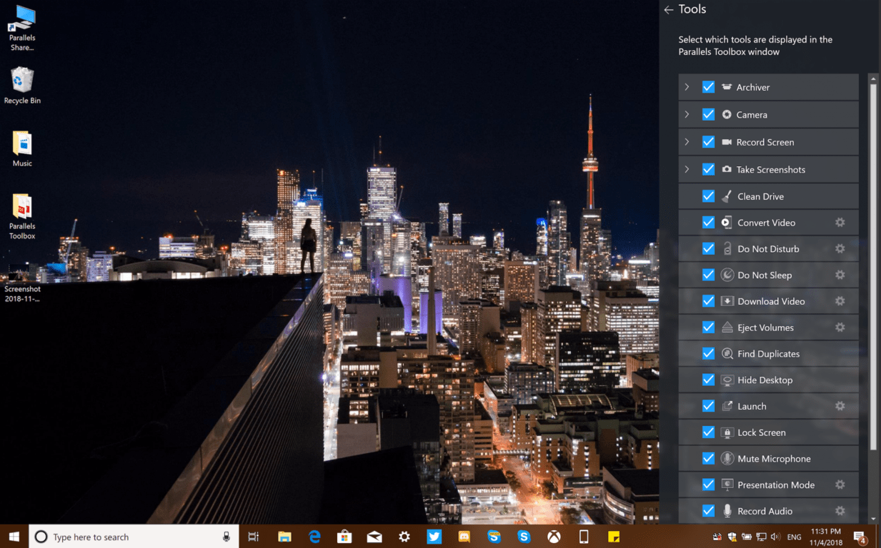 Parallels Toolbox 3 for Windows and Mac brings new useful utilities on Windows and Mac OnMSFT.com November 6, 2018