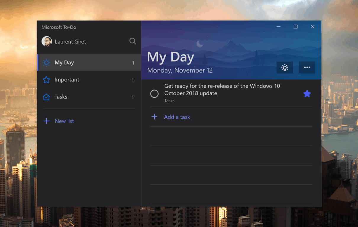 How to get the most out of microsoft's redesigned (and renamed) to do - onmsft. Com - september 26, 2019