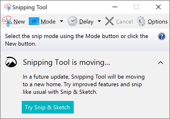Windows 10, Sniping tool, Microsoft