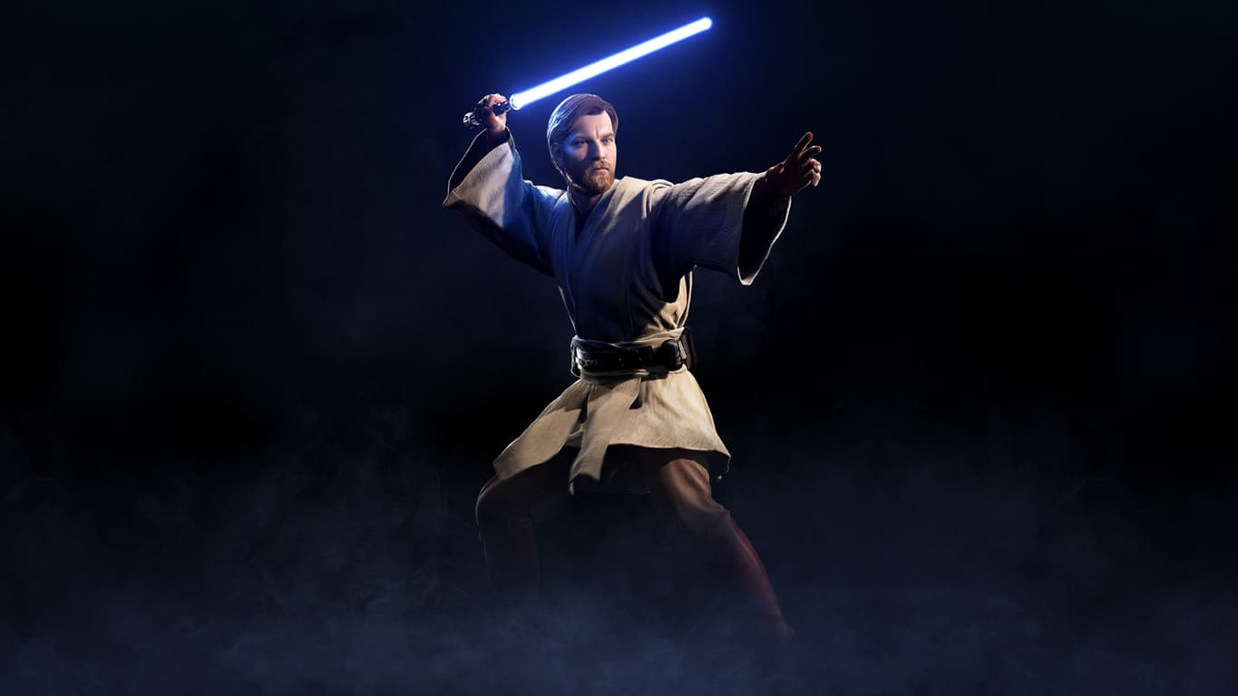 Obi-Wan Kenobi in Star Wars Battlefront II on Xbox One