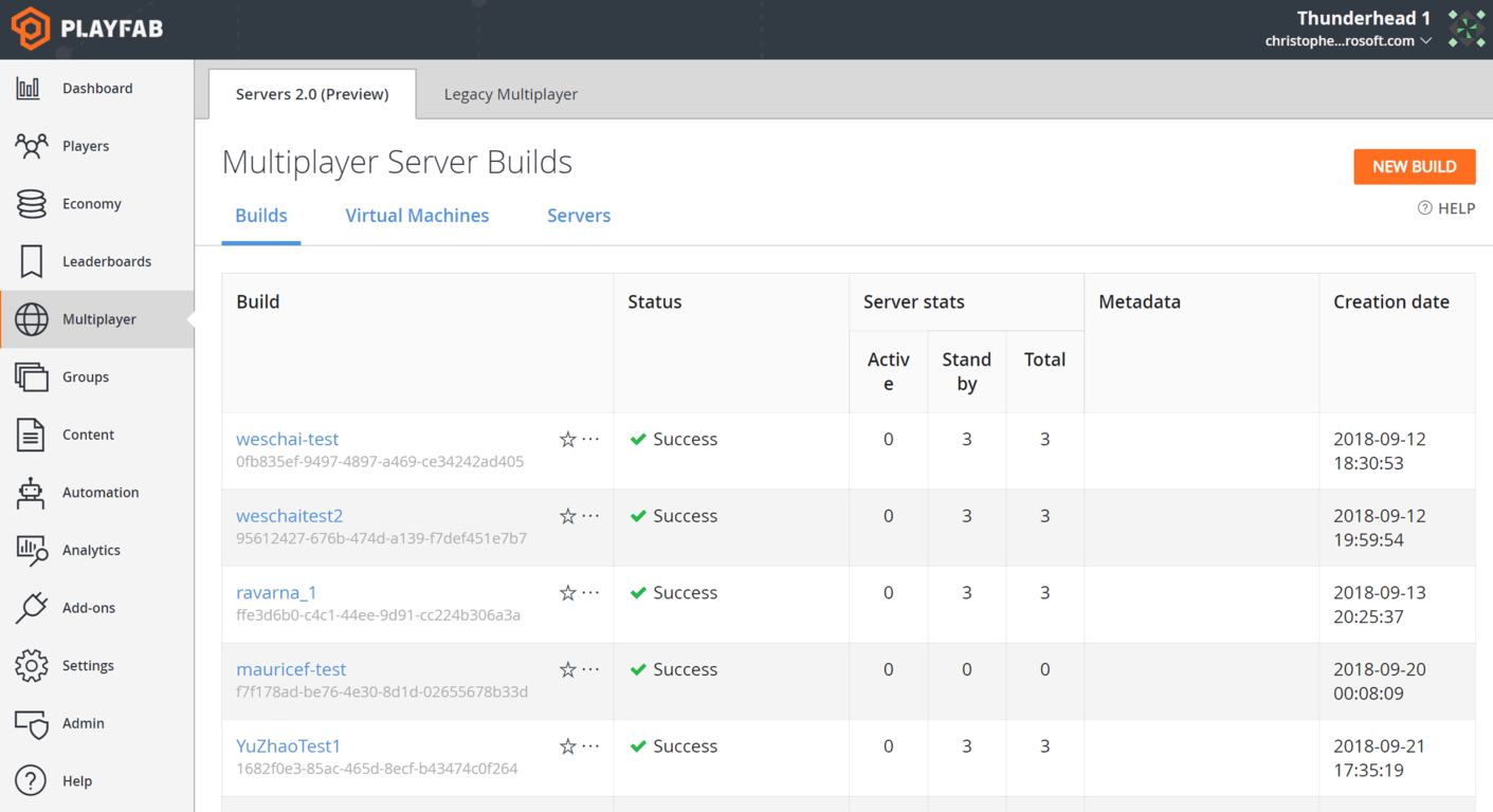 Playfab releases public preview of Multiplayer Servers, game devs can use Xbox + Azure quickly and easily OnMSFT.com November 14, 2018