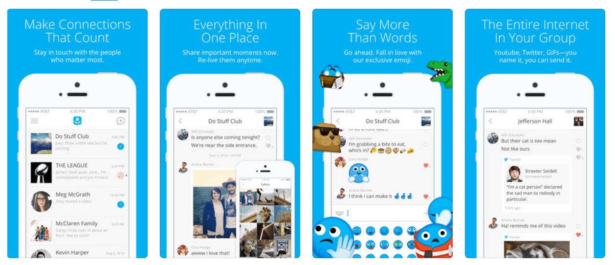 Microsoft's groupme ios app updates with fixes and improvements - onmsft. Com - december 12, 2018