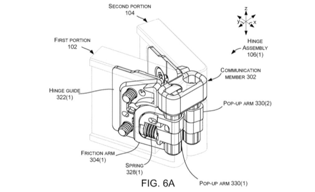Latest microsoft foldable device patent revelation shows locking hinges - onmsft. Com - december 13, 2018