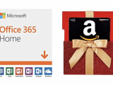 Get a $50 gift card when you purchase an office 365 home subscription on amazon - onmsft. Com - december 27, 2018