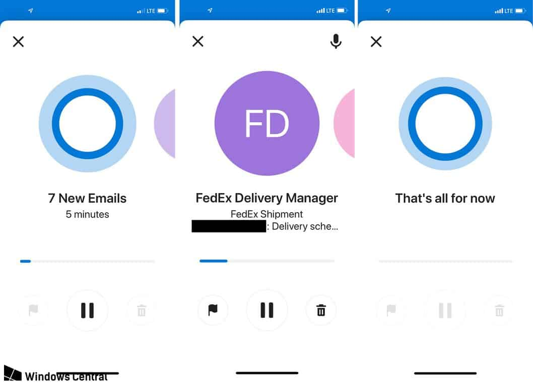 Cortana could reportedly soon be reading your emails to you in Outlook Mobile OnMSFT.com December 20, 2018