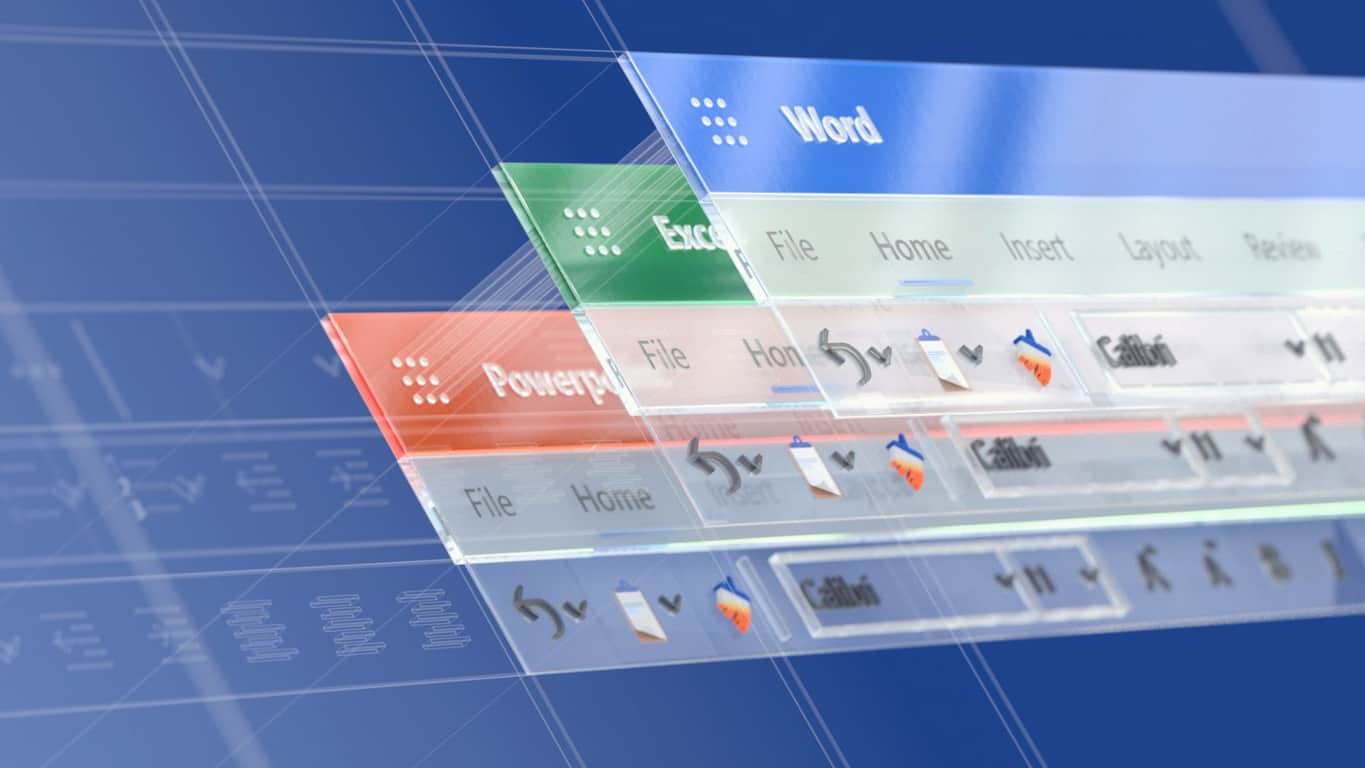 Microsoft Office 365 icons