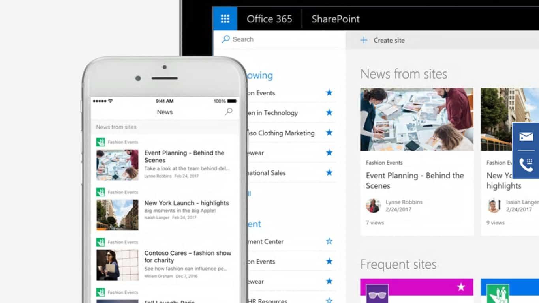 Microsoft SharePoint app
