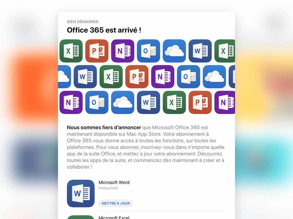 [updated: it's live] office 365 apps appear on mac app store ad and official support page, launch could be looming - onmsft. Com - january 24, 2019