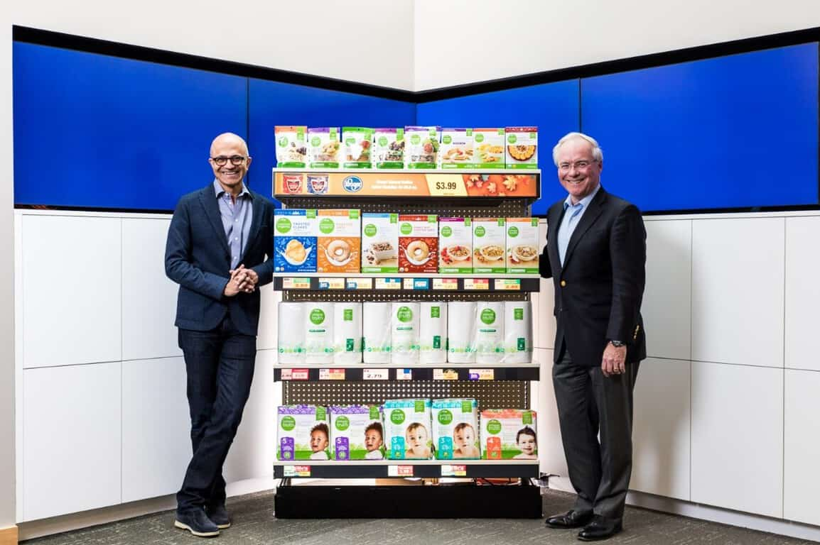 In a bid to compete with amazon, kroger teams with microsoft on a connected store pilot program - onmsft. Com - january 7, 2019