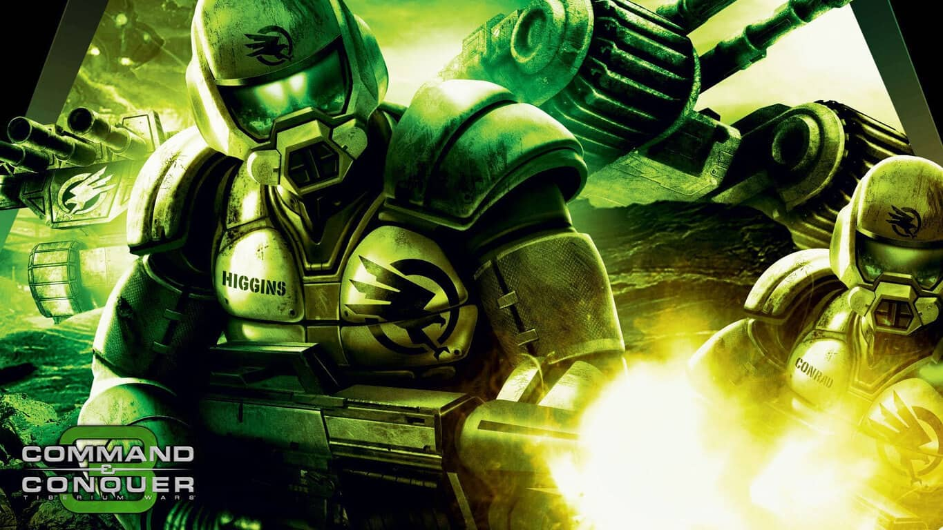 Command and Conquer video game on Xbox One