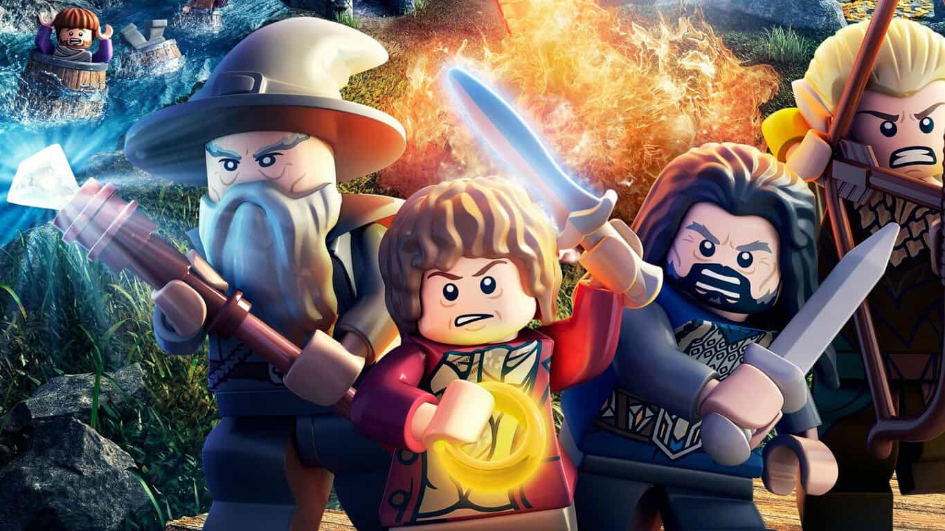 LEGO The Hobbit video game on Xbox One