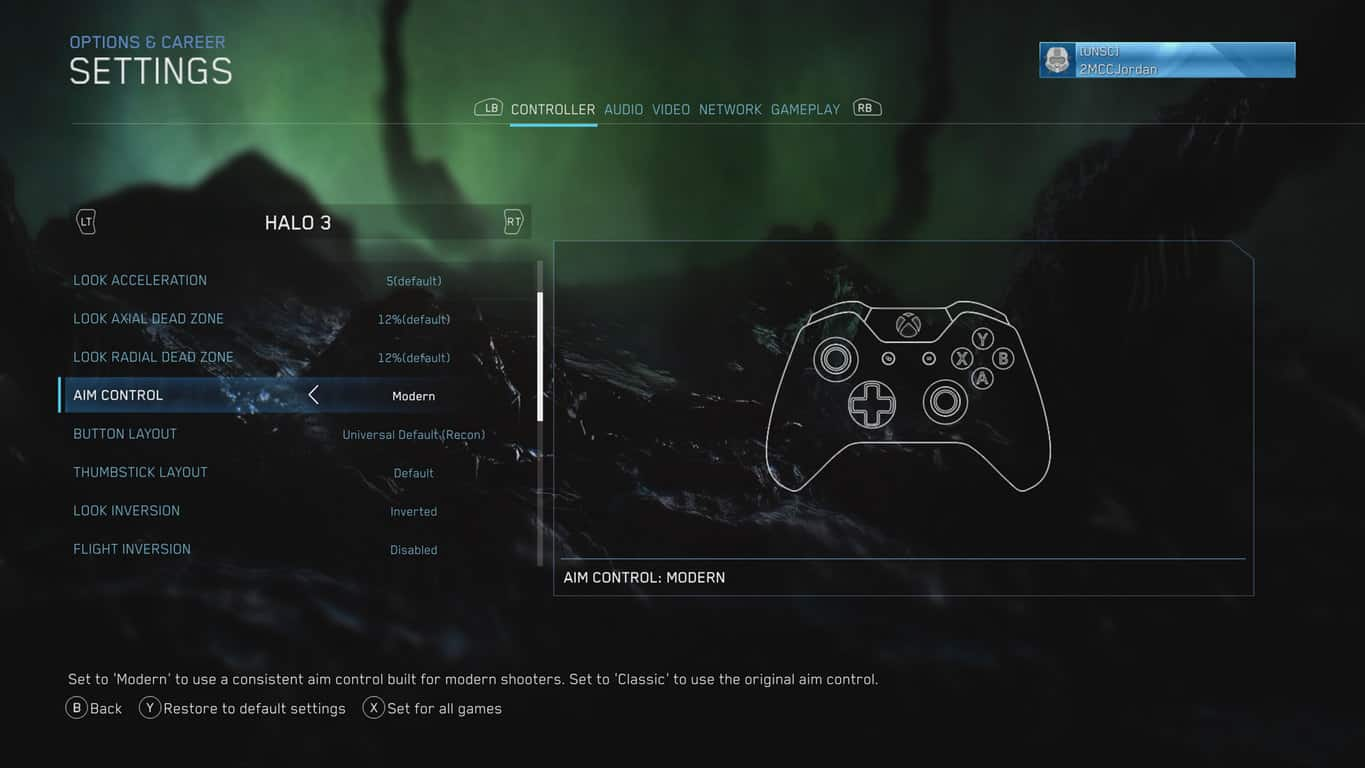 Halo: the master chief collection gets new modern aiming feature in latest update - onmsft. Com - january 17, 2019