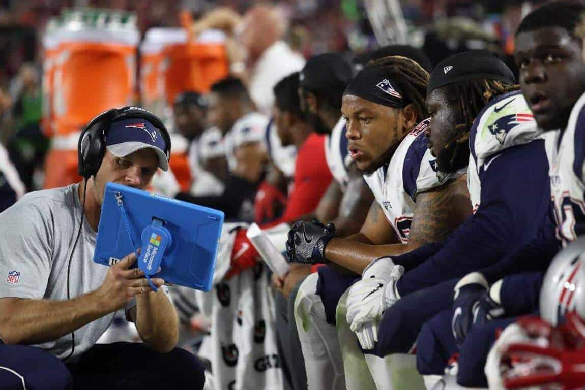 Surface NFL sidelines