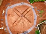 Cctv: unearthed chinese tomb looks like xbox logo