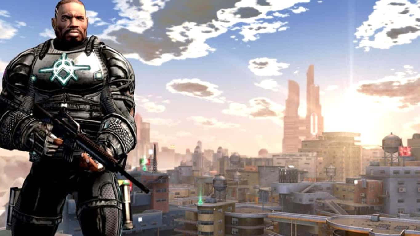 Crackdown video game on Xbox 360 and Xbox One