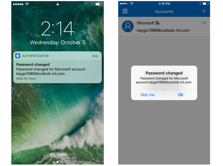 Microsoft authenticator ios app can now send you security notifications about your microsoft account - onmsft. Com - february 4, 2019