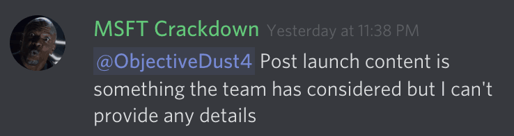 [updated] upcoming xbox exclusive crackdown 3 won't support xbox live parties at launch - onmsft. Com - february 11, 2019