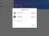 Microsoft To-Do now supports multiple accounts on Windows 10, option to show Flagged Items from Outlook coming soon OnMSFT.com February 25, 2019