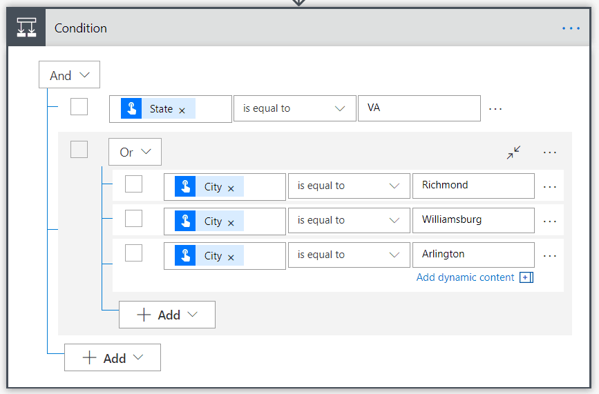 Microsoft flow gets new advanced condition builder - onmsft. Com - february 11, 2019