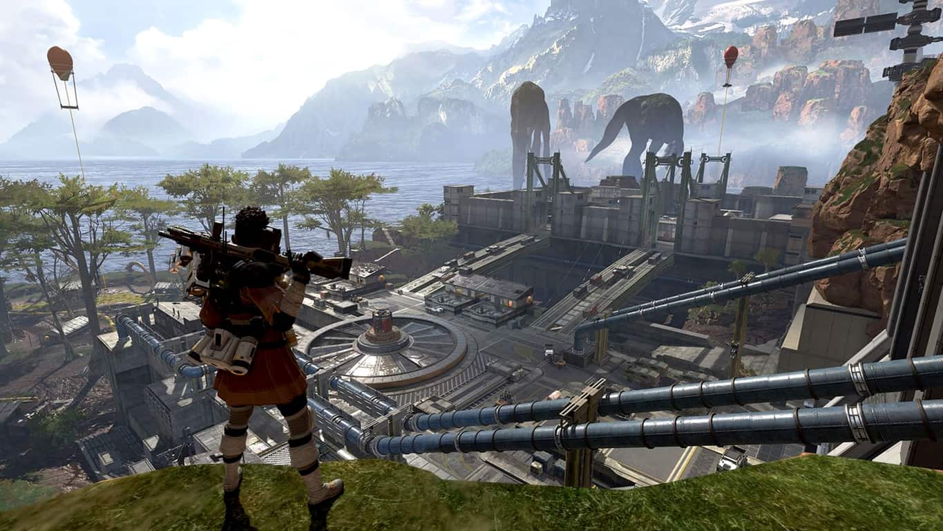 Apex Legends video game on Xbox One